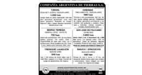 Aviso Diario La Nación – Sábado 27 de octubre de 2018