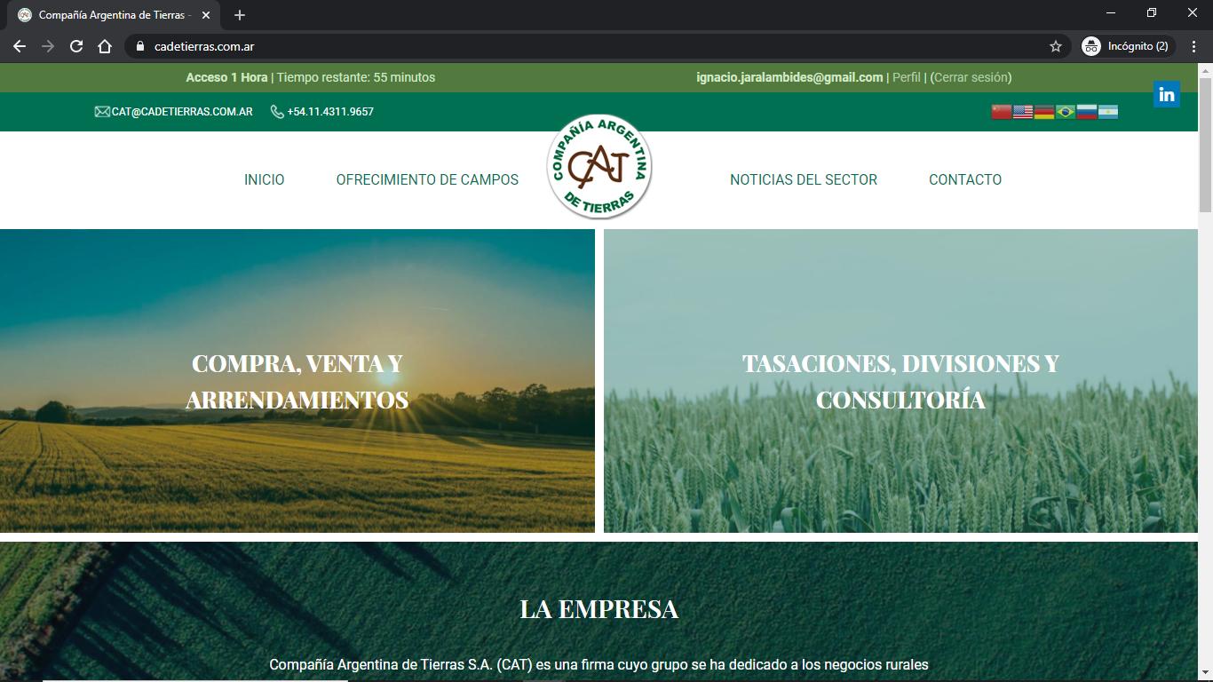 Compañía Argentina de Tierras - Instructivo de Compra 02