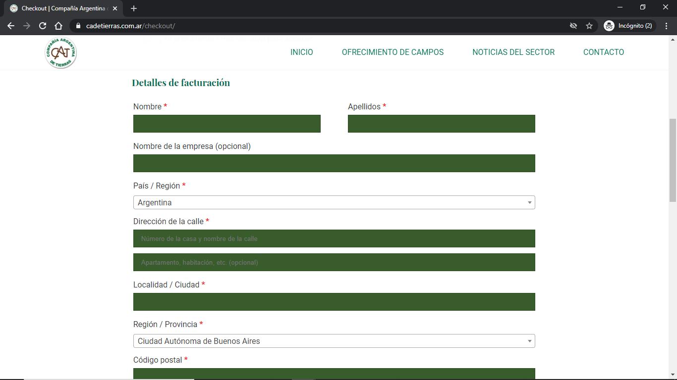 Compañía Argentina de Tierras - Instructivo de Compra 05