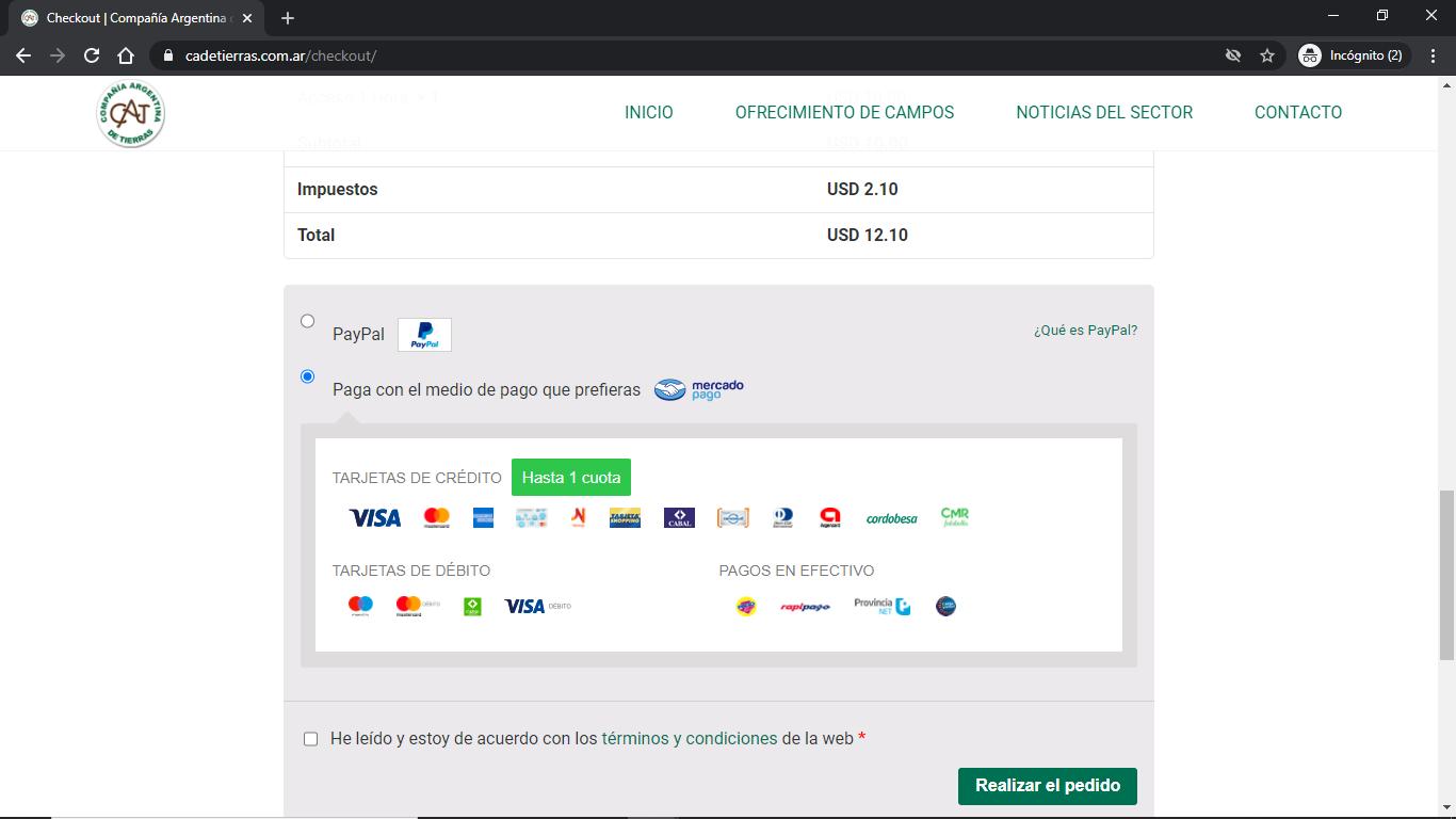 Compañía Argentina de Tierras - Instructivo de Compra 06