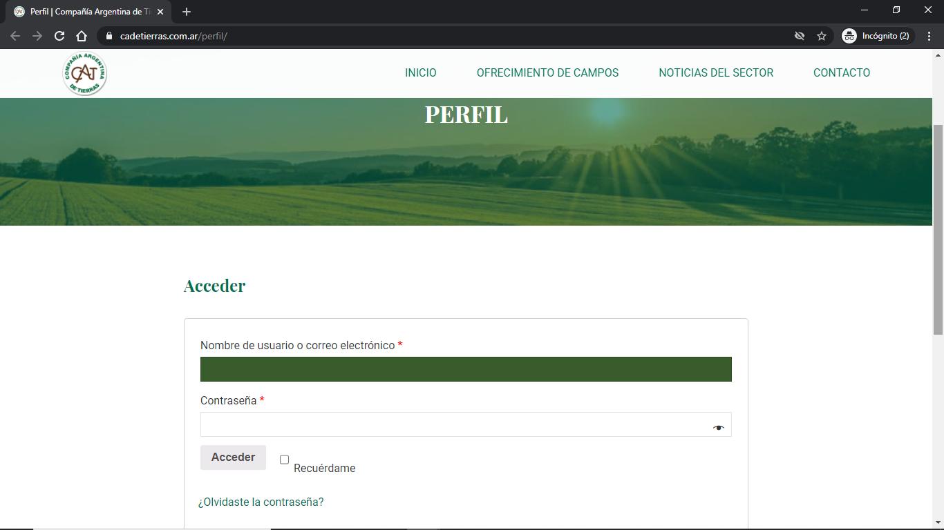 Compañía Argentina de Tierras - Instructivo de Compra 07